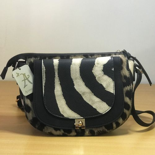 Accessorize Animal Print Body Bag With Shoulder Strap