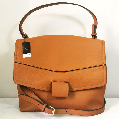 Next Brown Shoulder Bag with Shoulder Strap
