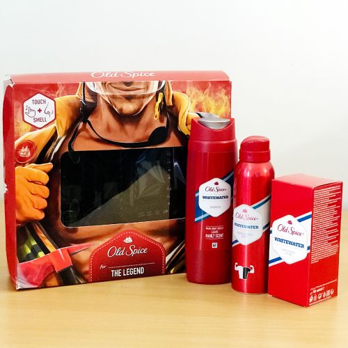 Old Spice for The Legend Whitewater Gift Set (Touch + Smell)