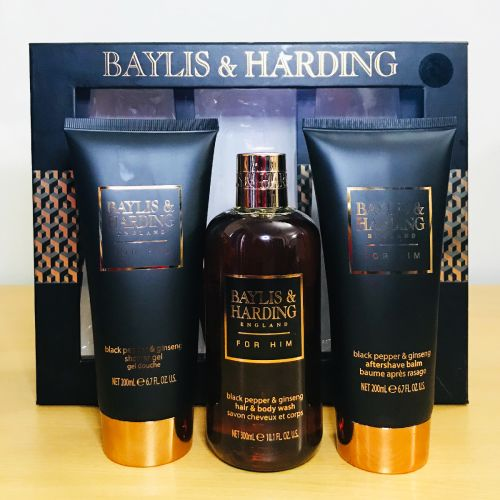 Baylis & Harding Black Pepper & Ginseng Gift Set