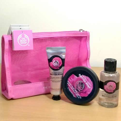 The Body Shop  British Rose Gift Set
