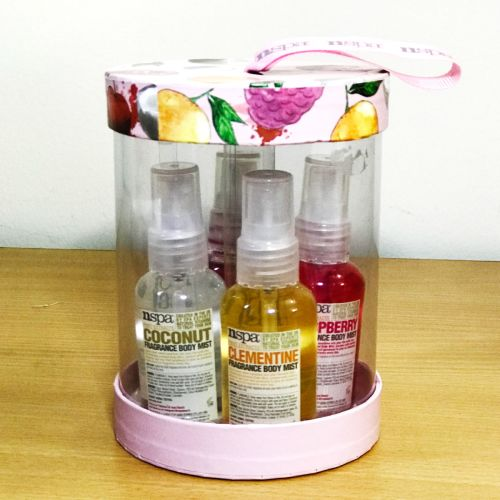 Nspa Fruit Exracts 4 Types  Body Mist Gift set