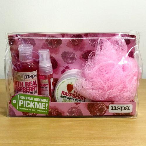 Nspa Real Fruit Goodsness Pickme Raspberry 4 Types Gift Set
