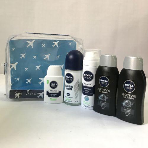 Nivea Men Up & Away Travel Essentials Men Gift Set