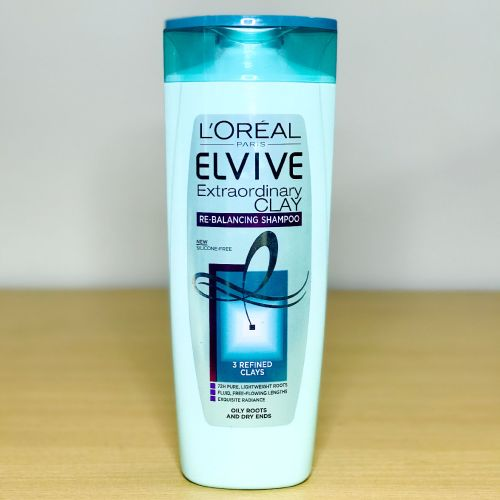 L'Oreal Paris Elvive Extraordinary Clay Re-balancing Shampoo