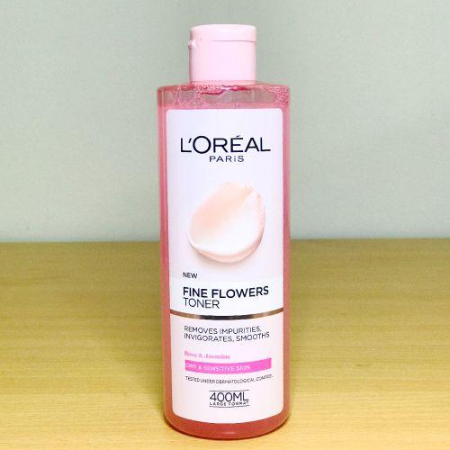 Loreal Paris Fine Flowers Cleansing Toner 400 ml