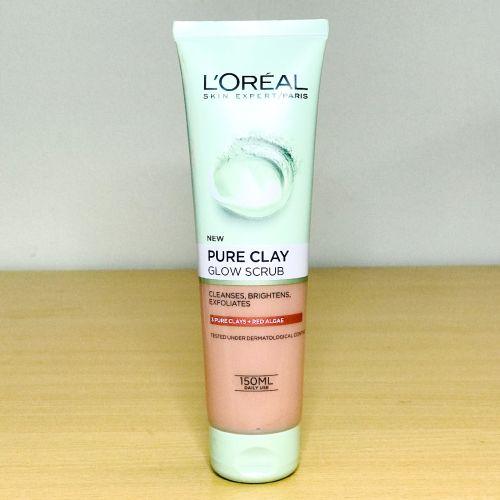 Loreal Paris Skin Expert Pure Clay Glow Scrub 150 ml