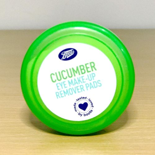 Boots Cucumber Eye Make-up Remover Pads - 40 Pads
