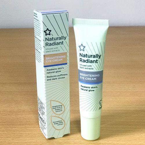 Superdrug Naturally Radiant Brightening Eye cream