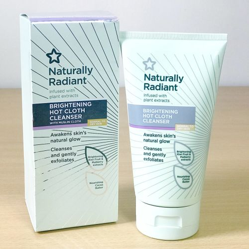 Superdrug Naturally Radiant Brightening Hot Cloth Cleanser 150ml