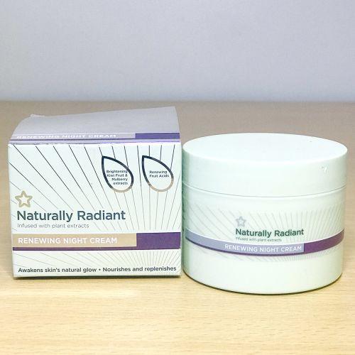Superdrug Naturally Radiant Renewing Night Cream 75ml