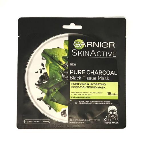 Garnier Skin Active Pure Charcoal Black Tissue Mask 28g