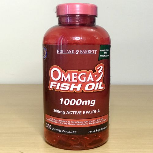 Holland & Barrett  Omega-3 fish oil 1000mg 350 capsule