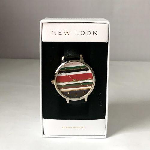 New Look  Black Stripe Dial Watch