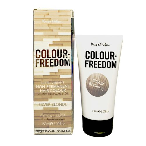 Knight & Wilson Colour Freedom Non-Permanent Hair Colour Silver Blonde
