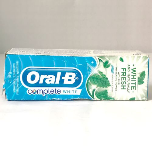 Oral-B Complete White & Naturally Fresh Toothpaste 75ml