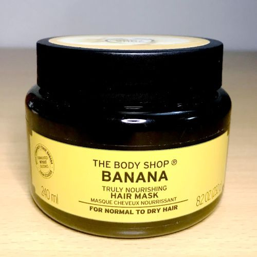 The Body Shop Banana Hair Mask 240 ml
