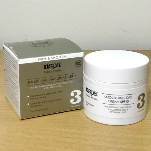 Nspa Beauty Rituals Smoothing Day Cream SPF15