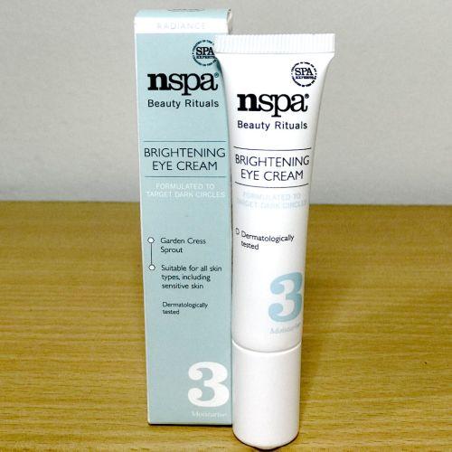 Nspa Beauty Rituals Brightening Eye Cream