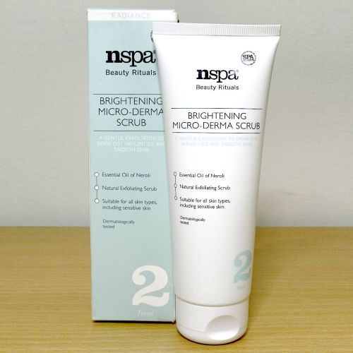 Nspa Beauty Rituals Brightening Micro Derma Scrub