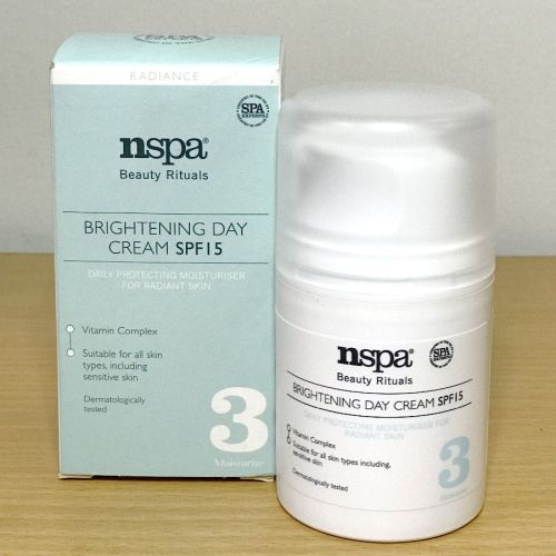 Nspa Beauty Rituals Brightening  Day Cream SPF15
