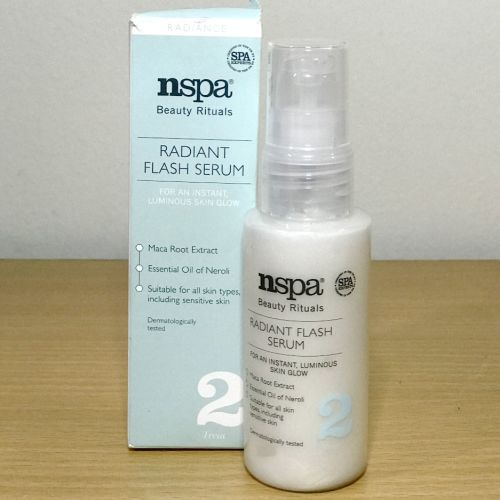 Nspa Beauty Rituals Radiant Flash Serum