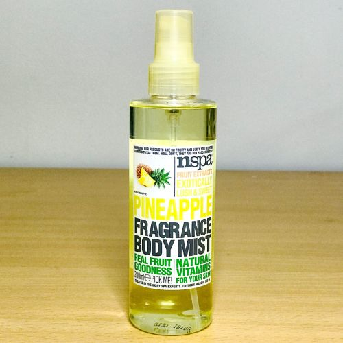 Nspa Fruit Exracts Exotically Lush & Sweet Pineapple Fragnance Body Mist