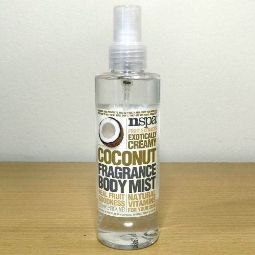 Nspa Fruit Exracts Exotically Creamy Coconut Fragnance Body Mist
