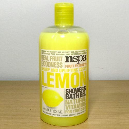Nspa Fruit Exracts Shape & Uplifting Zesty Lemon Shower & Bath Gel