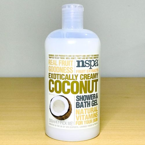 Nspa Fruit Exracts Extotically Creamy Coconut Shower & Bath Gel