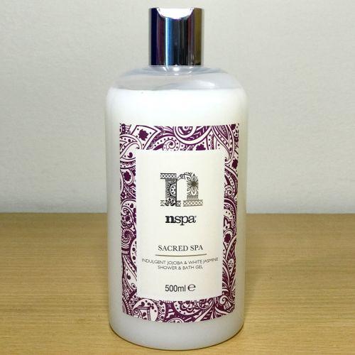 Nspa Sacred Spa Jojoba & White Jasmine Shower & Bath Gel