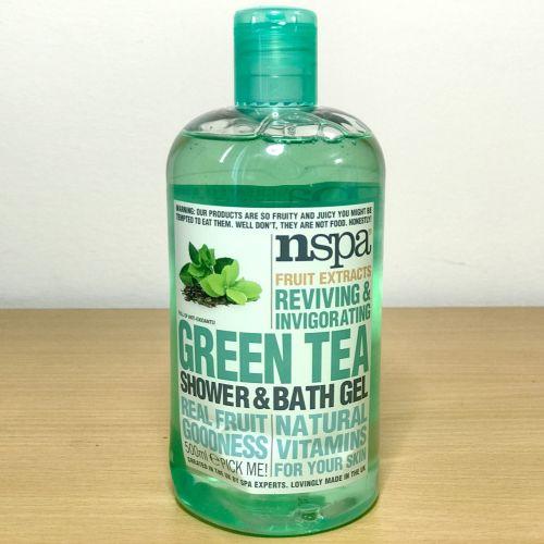 Nspa Fruit Extracts Reviving & Invigorating Green Tea Shower & Bath Gel