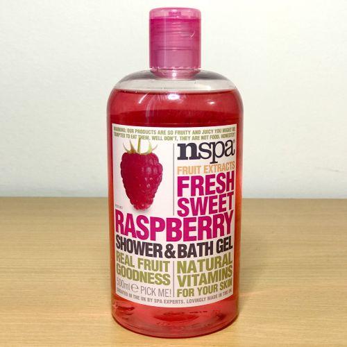 Nspa Fruit Extracts Fresh Sweet Raspberry Shower & Bath Gel