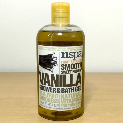 Nspa Fruit Extracts Smooth Sweet Pods Of Vanilla Shower & Bath Gel