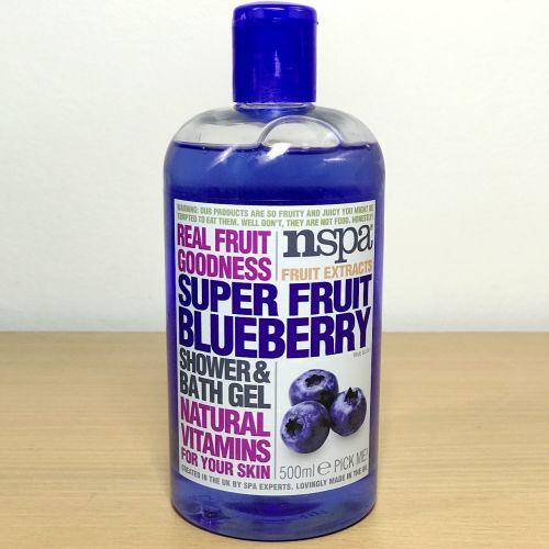 Nspa Fruit Extracts Super Fruit Blueberry Shower & Bath Gel 500ml