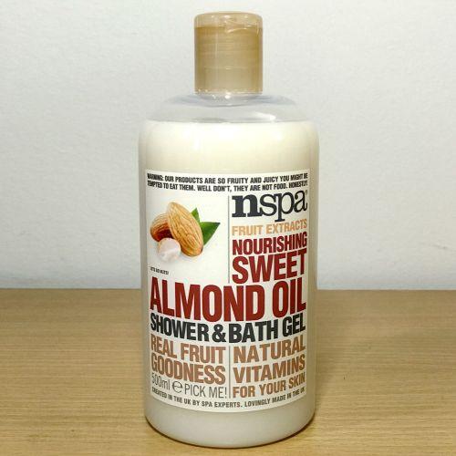 Nspa Fruit Extracts Nourishing Sweet Almond Oil Shower & Bath Gel