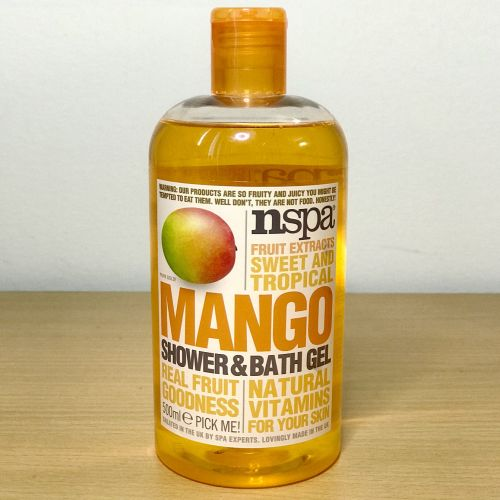 Nspa Fruit Extracts Sweet & Tropical Mango Shower & Bath Gel 500ml