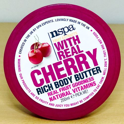 NSPA Fruit Extracts With Cherry Body Butter