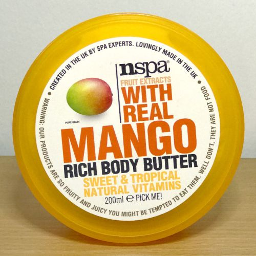 Nspa Fruit Extracts With Real Mango Rich Body Butter