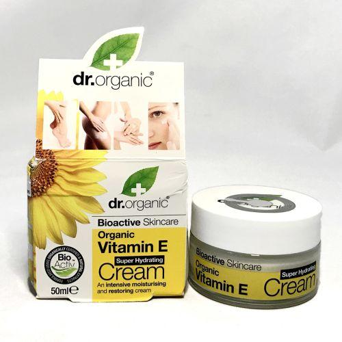 Dr Organic Vitamin E Super Hydrating Cream 50ml