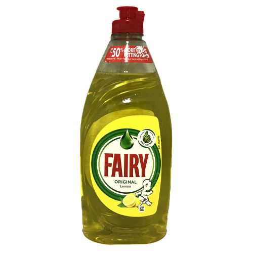 Fairy Original Washing Up Liquid Lemon 500ml