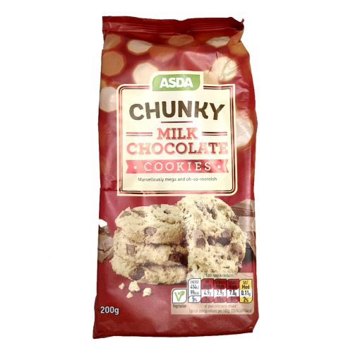 ASDA Chunky Chocolate Cookies 200g