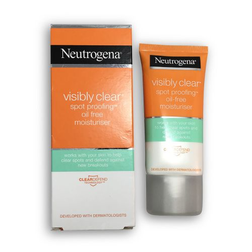 Neutrogena Visibly Clear Spot Proofing Oil Free Moisturiser 50ml