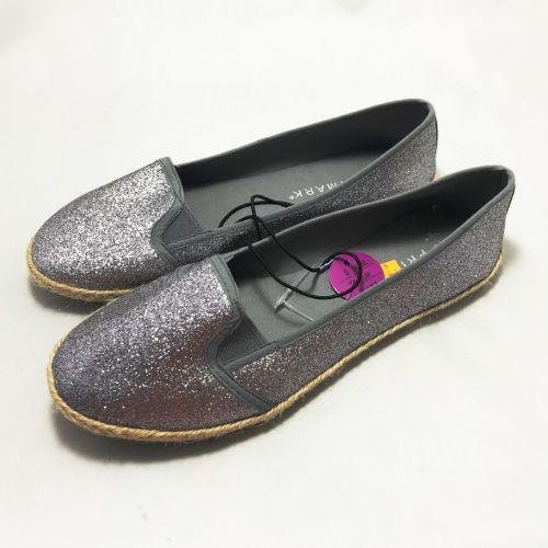 Primark Pewter Glitter Shoe
