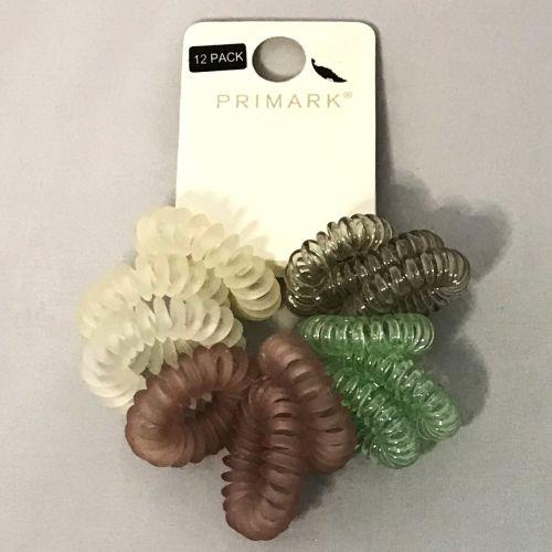 Primark Coiled Multi Hair Ties