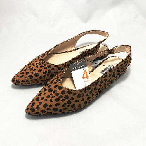 Primark Tiger Print Belt Shoe