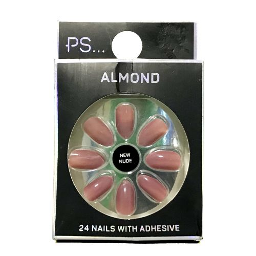 Primark Almond New Nude 24 Nails With Adhesive