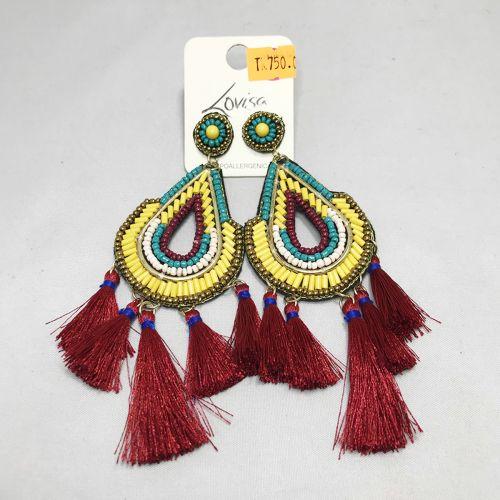 Lovisa Beaded & Tassel Earring