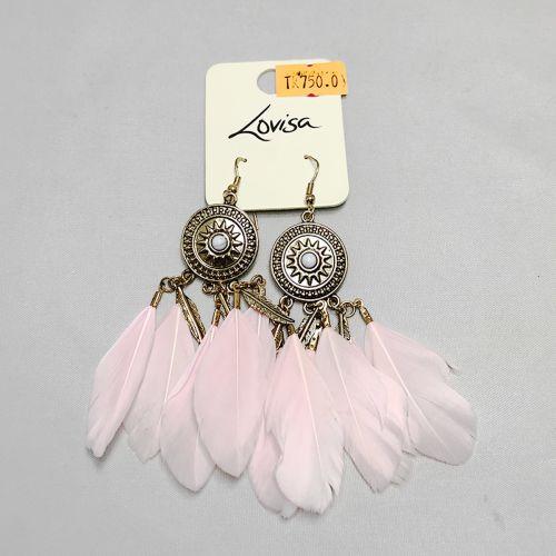 Lovisa Pink Pochahontas Earring