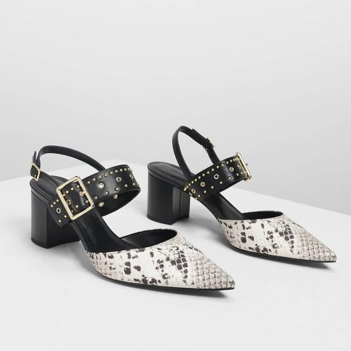 Charles & Keith Chalk Shoe